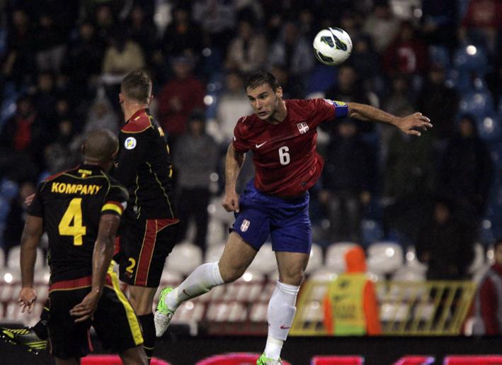 Srbija - Belgija_ivanovic