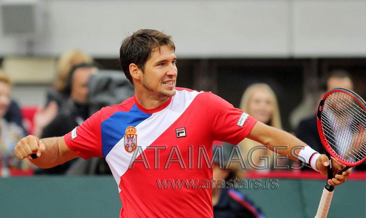 Lajović u četvrtfinalu turnira u Moskvi