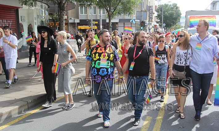 Beograd: Parada ponosa bez incidenata