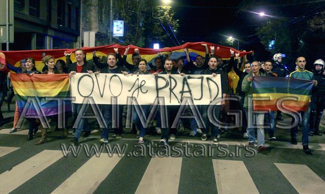 Počelo okupljanje aktivista, u centru jake policijske snage