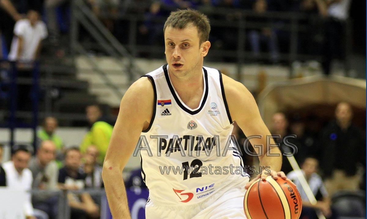 Budućnost pobedila Partizan