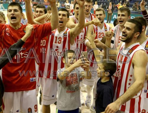 Zvezda u završnici slomila Partizan i osvojila Kup Radivoja Koraća
