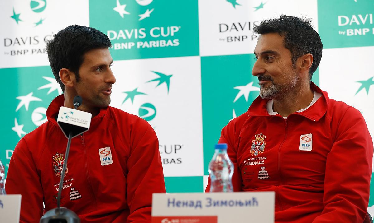 Zimonjić objavio spisak igrača za finalni turnir Dejvis kupa