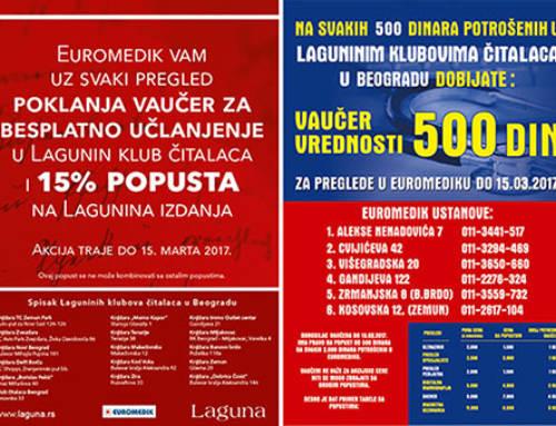 Laguna i Euromedik brinu o vašem zdravlju