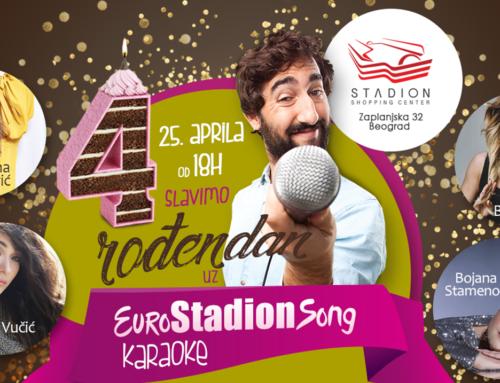 Evrovizijske karaoke u Stadionu