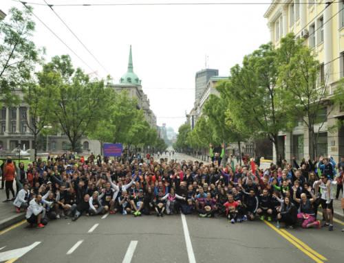 30. Beogradski maraton u znaku  grupnog trčanja