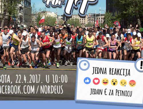 Nordeus na Beogradskom maratonu trči za nauku