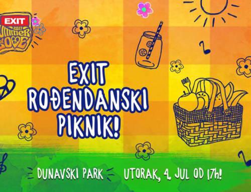 EXIT piknik 4. jula u Dunavskom parku – večernje finale uz hologram na jezeru!