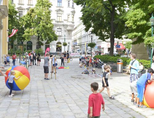 """Beč uvodi """"ulice za igru"""""""
