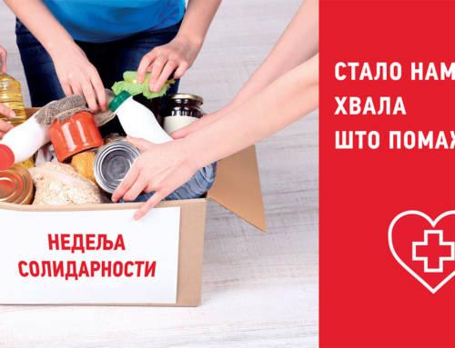 Crveni krst Beograd obeležava Nedelju solidarnosti