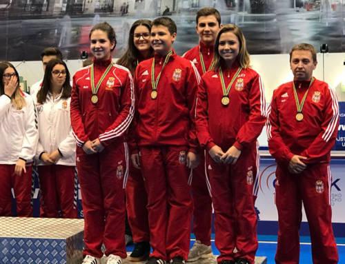 Evropska liga mladih: Srpske nade treće na kontinentu