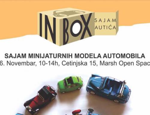IN BOX-SAJAM MINIJATURNIH MODELA AUTOMOBILA