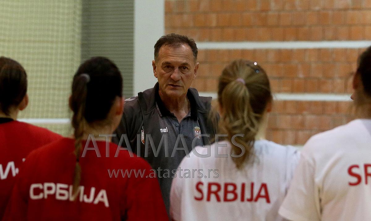 Selektor Obradović zadovoljan pobedom protiv Nemačke