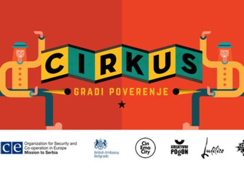 """Raspisan konkurs za mlade za učešće u projektu """"Cirkus gradi poverenje"""""""