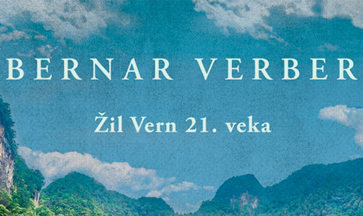 "Žil Vern 21. veka – Prvi put na srpskom roman ""Šesta faza sna"" Bernara Verbera"