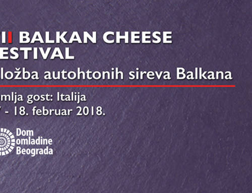 7. Balkan Cheese Festival 17. i 18. februara u Domu omladine Beograda