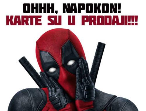"""Povratak omiljenog antiheroja – karte u prodaji za """"Deadpool 2"""""""