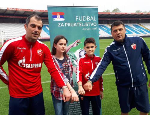 """Milojević i Milijaš savetovali mlade ambasadore za """"Fudbal za prijateljstvo"""""""