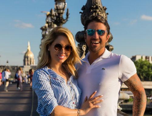 Nezaboravani rođendan u gradu ljubavi – BiljanaTipsarević iznenadila supruga Janka