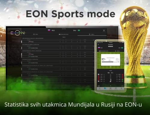 Statistika utakmica na SBB-ovoj platformi EON