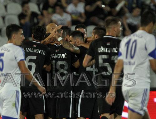 Minimalna pobeda Partizana pred večiti derbi