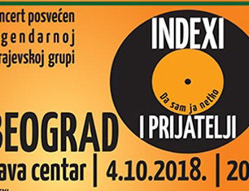 Boris Novković i Branko Đurić Đuro pozivaju na koncert Indexi i prijatelji