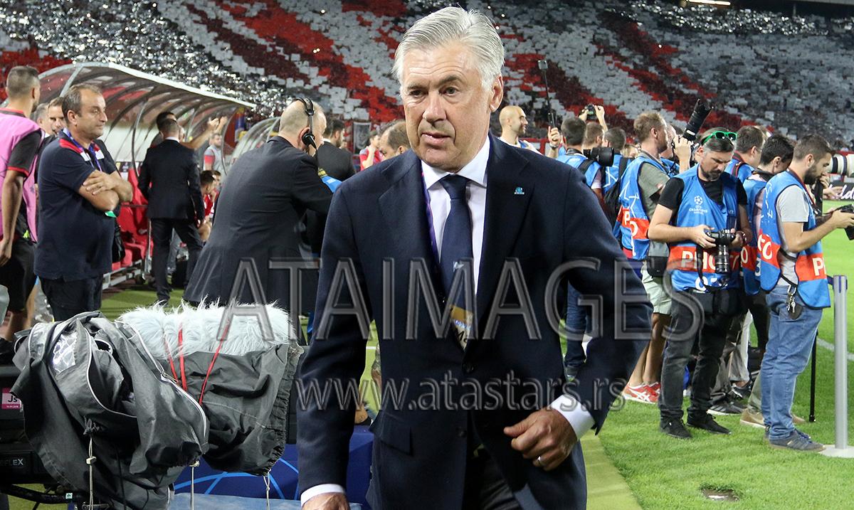 Napoli otpustio trenera Ančelotija