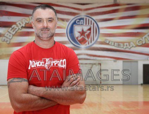 Peruničić nije više trener rukometaša Crvene zvezde