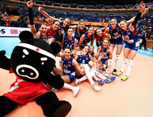 Odbojkašice Srbije u finalu Svetskog prvenstva u Japanu