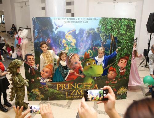 Princeze okupirale bioskope