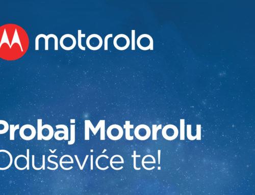 "Kampanja ""Probaj Motorolu"""