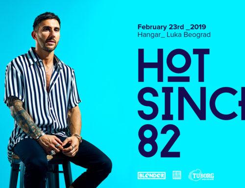 Svetska di-džej zvezda Hot Since 82 nastupa u Beogradu