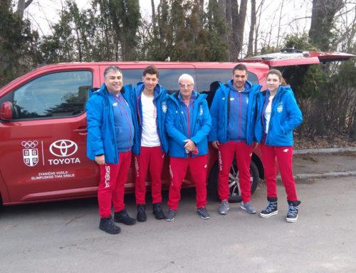 Tim Srbije otputovao za Sarajevo na XIV zimski EYOF