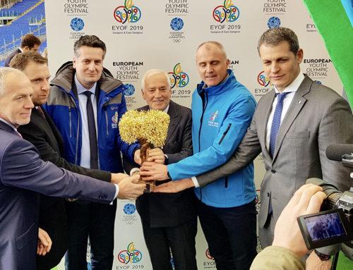 Đorđe Višacki prisustvovao paljenju olimpijskog plamena za XIV Zimski EYOF