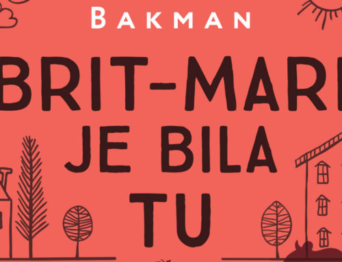 """""""Brit-Mari je bila tu"""" novi roman Frederika Bakmana"""