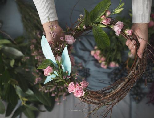 Pet koraka za prolećni venčić od cveća