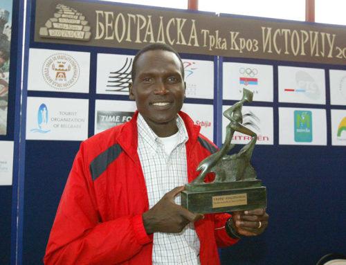 Čuveni Pol Tergat promoter 32. Beogradskog maratona
