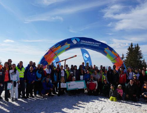 """Održana humanitarna ski trka """"I ja se borim"""" na Kopaonu"""
