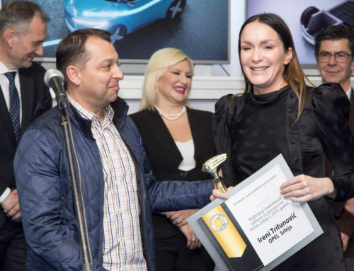 Irena Trifunović prva dobitnica nagrade za najboljeg pr menadžera u auto industriji u Srbiji