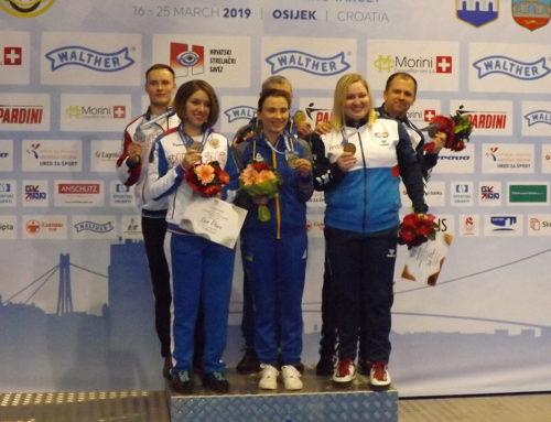 Zorana Arunović i Damir Mikec pogodili bronzu