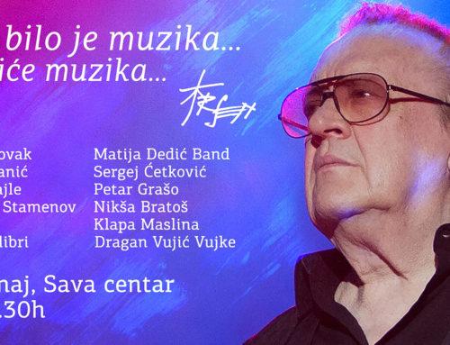 Koncert posvećen Arsenu Dediću 30. maja u Sava centru