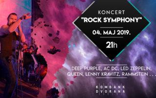 Rock Symphony iz Bitolja 4.maja u Kombank dvorani