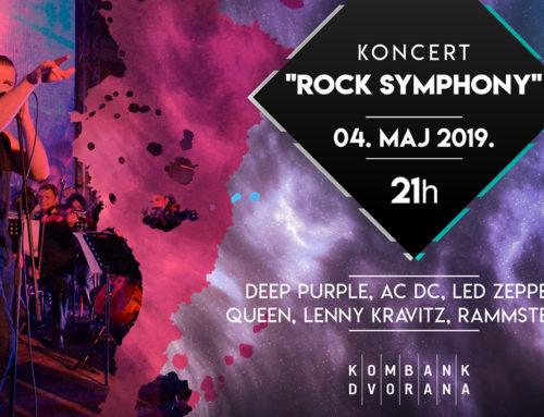 Rock Symphony iz Bitolja 4. maja u Kombank dvorani