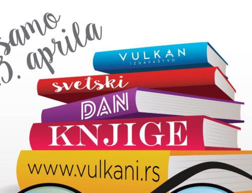 Svetski dan knjige na sajtu Vulkan izdavaštva