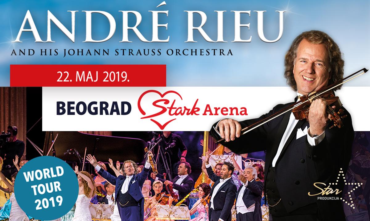 "Andre Riju i ""Johan Štraus orkestar"" večeras u Areni"