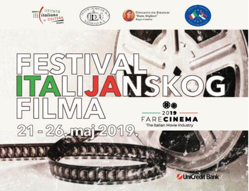 Festival italijanskog filma od 21. maja u Beogradu uz specijalni program i gostovanje scenografkinje Lučije Nigri
