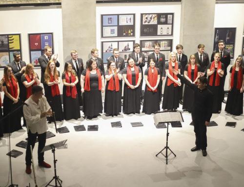 Publika dirnuta: američki hor u srcu Novog Sada izvodio srpske tradicionalne pesme