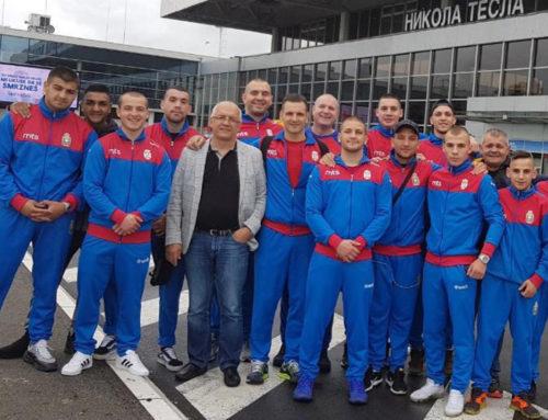 Srpski bokseri na pripremama u Rusiji