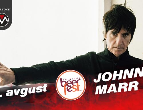 Svetska muzička zvezda Johnny Marr na Belgrade Beer Festu