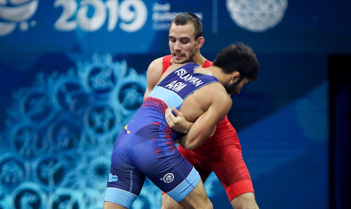 Rvač Mate Nemeš osvojio bronzanu medalju na EI u Minsku